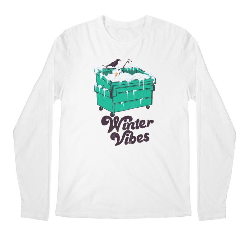 Winter Vibes Men's Regular Longsleeve T-Shirt by hillarywhiterabbit's Artist Shop