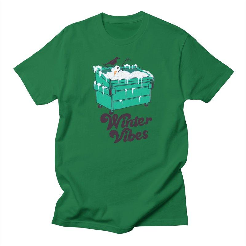Winter Vibes Women's Regular Unisex T-Shirt by hillarywhiterabbit's Artist Shop