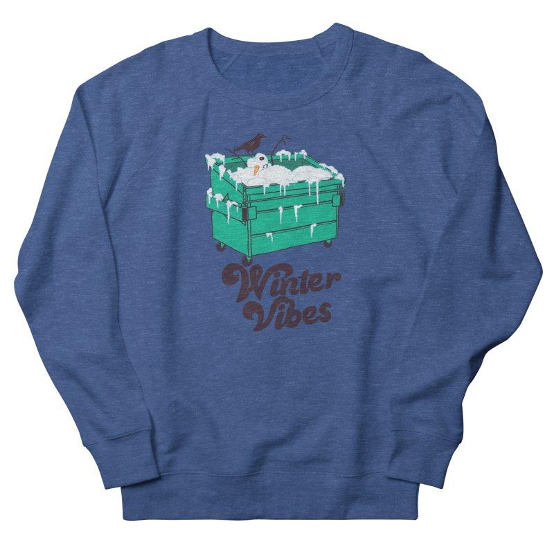 Winter Vibes Women's French Terry Sweatshirt by hillarywhiterabbit's Artist Shop