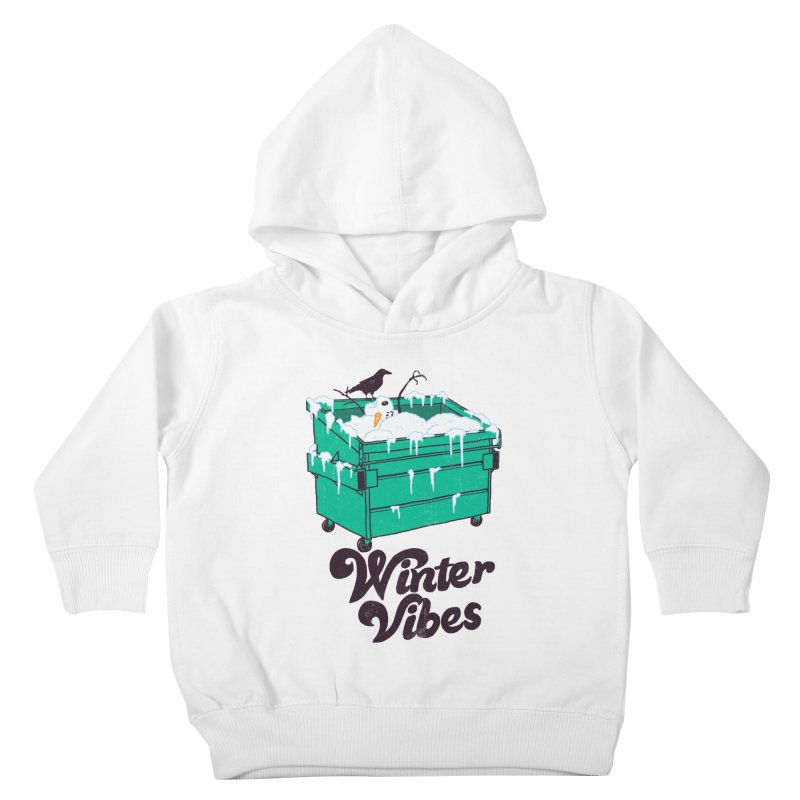 Winter Vibes Kids Toddler Pullover Hoody by Hillary White