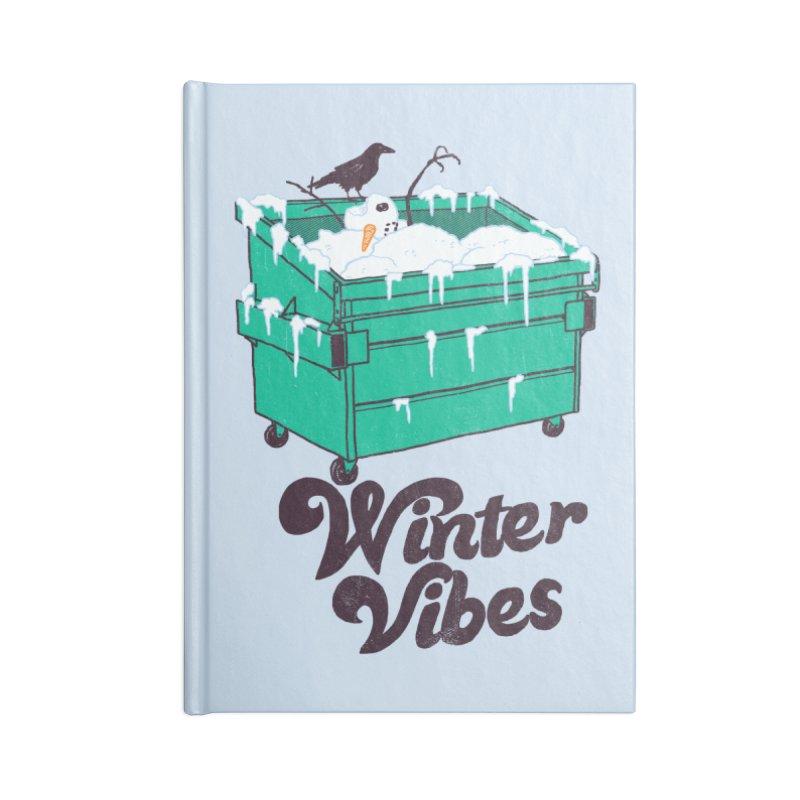 Winter Vibes Accessories Notebook by hillarywhiterabbit's Artist Shop