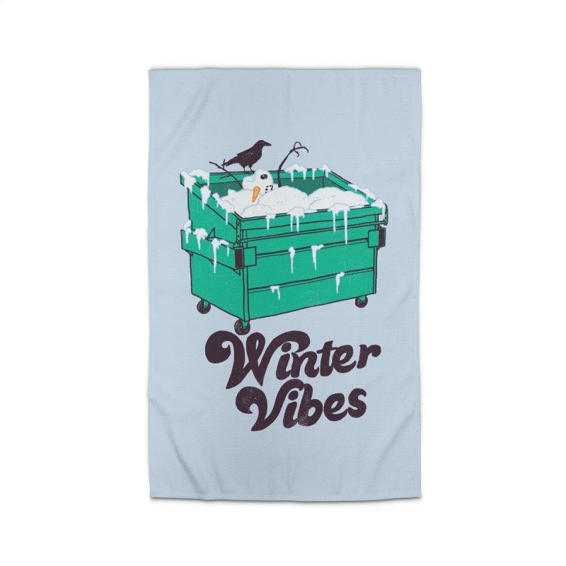 Winter Vibes Home Rug by hillarywhiterabbit's Artist Shop