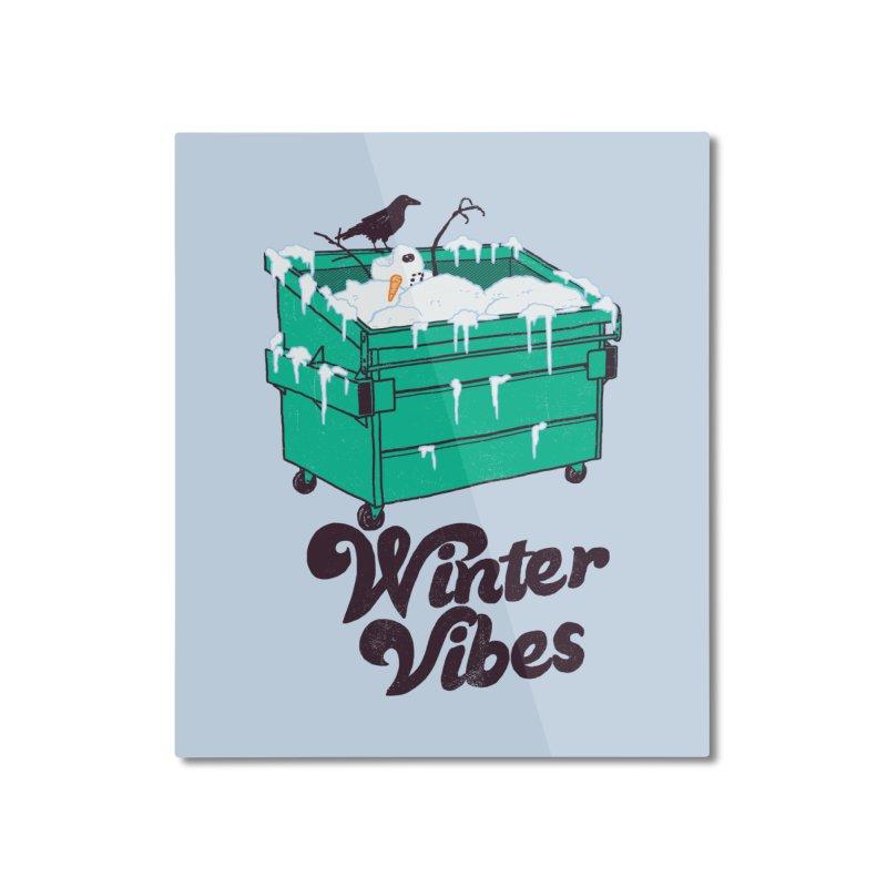 Winter Vibes Home Mounted Aluminum Print by hillarywhiterabbit's Artist Shop