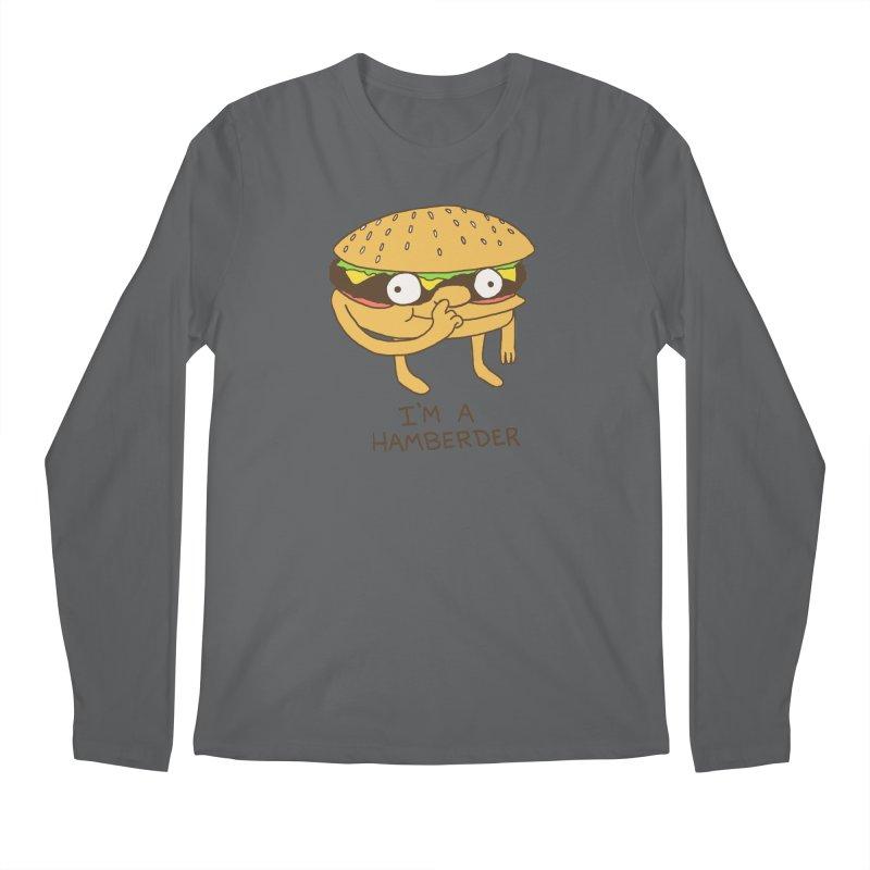 I'm A Hamberder Men's Regular Longsleeve T-Shirt by hillarywhiterabbit's Artist Shop