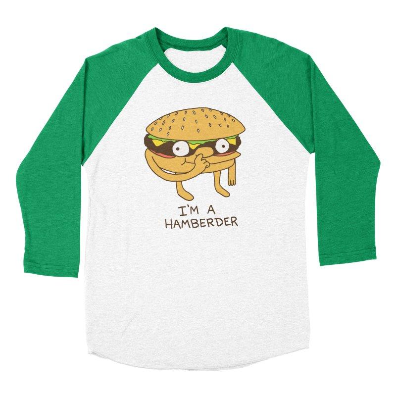 I'm A Hamberder Women's Baseball Triblend Longsleeve T-Shirt by hillarywhiterabbit's Artist Shop