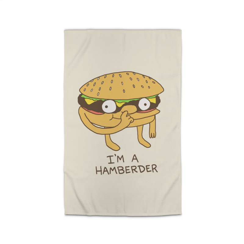 I'm A Hamberder Home Rug by hillarywhiterabbit's Artist Shop