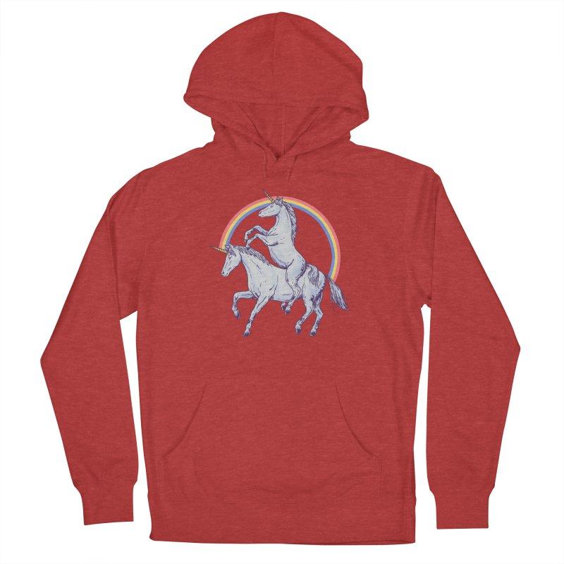 Unicorn Rider Women's French Terry Pullover Hoody by hillarywhiterabbit's Artist Shop
