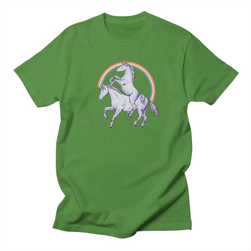 Unicorn Rider Women's Regular Unisex T-Shirt by Hillary White