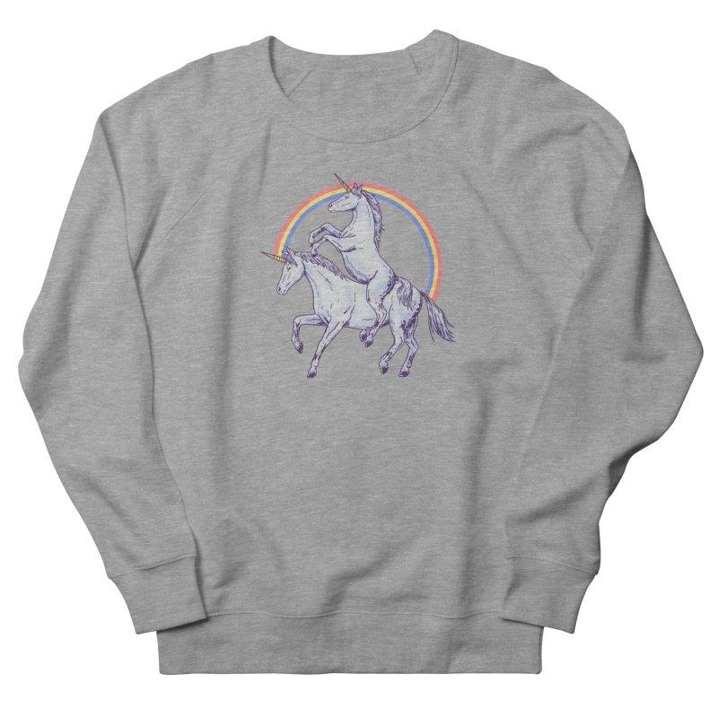 Unicorn Rider Women's French Terry Sweatshirt by Hillary White