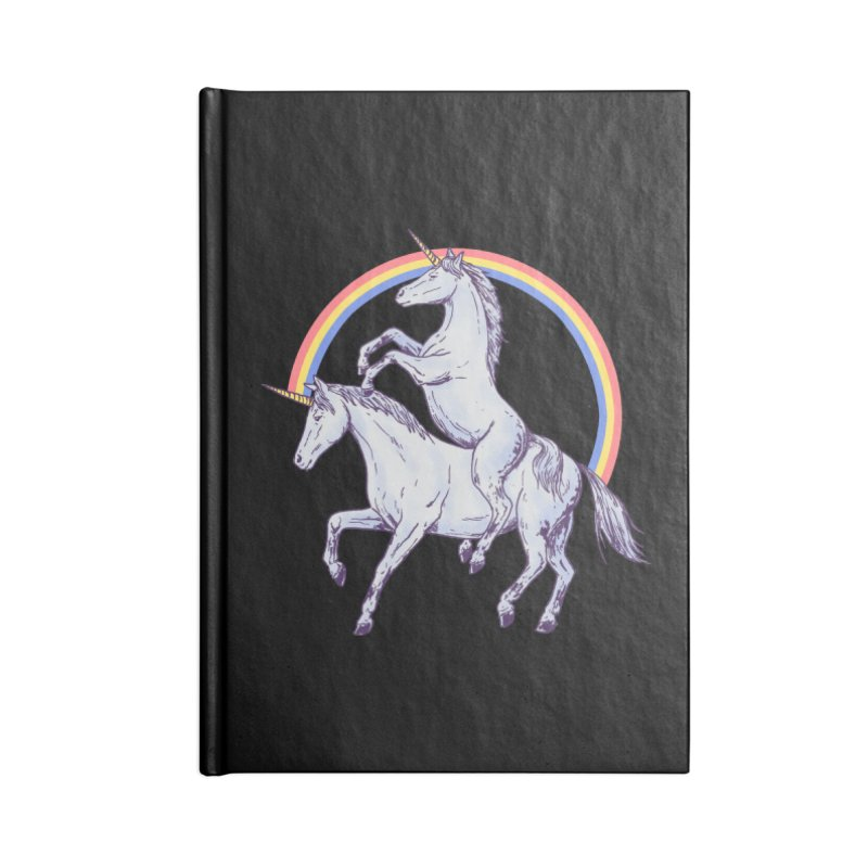 Unicorn Rider Accessories Notebook by Hillary White