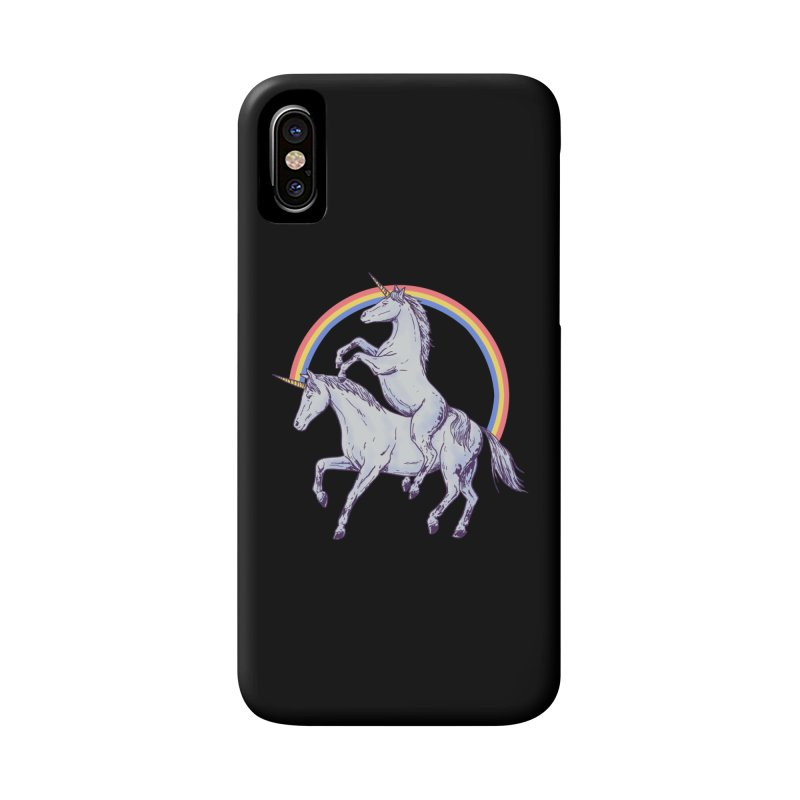 Unicorn Rider Accessories Phone Case by Hillary White