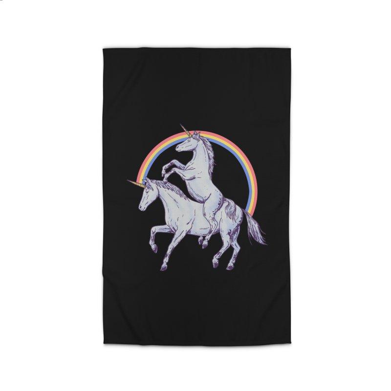 Unicorn Rider Home Rug by hillarywhiterabbit's Artist Shop