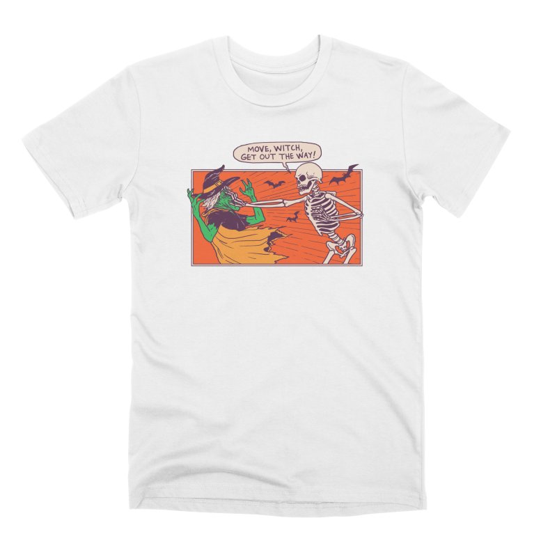 Move, Witch Men's Premium T-Shirt by Hillary White