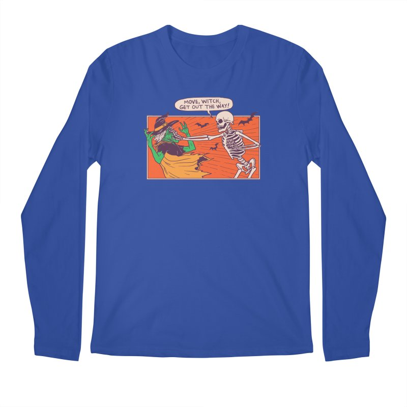 Move, Witch Men's Regular Longsleeve T-Shirt by Hillary White