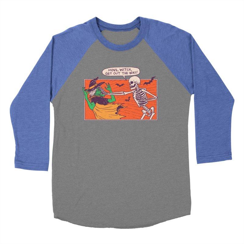 Move, Witch Women's Baseball Triblend Longsleeve T-Shirt by hillarywhiterabbit's Artist Shop