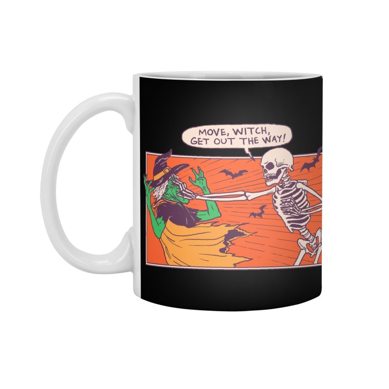 Move, Witch Accessories Mug by Hillary White