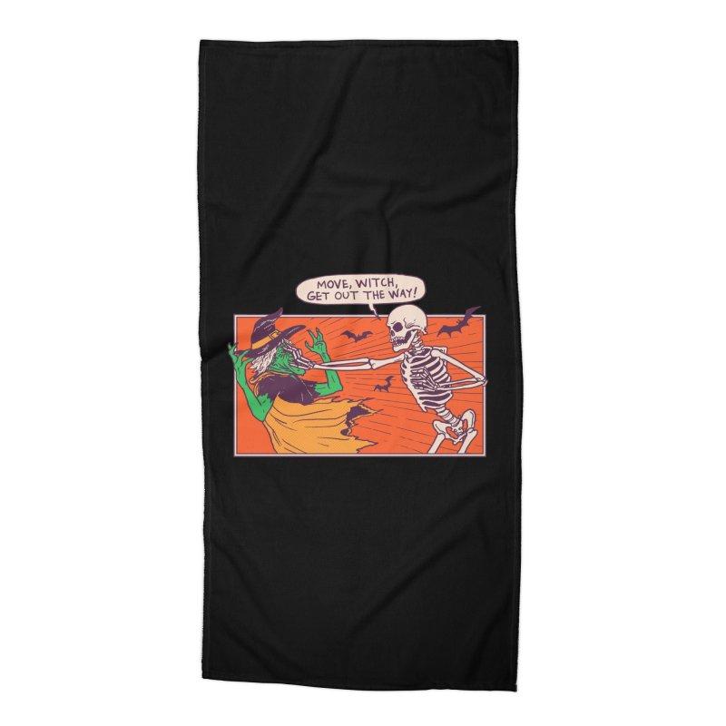 Move, Witch Accessories Beach Towel by hillarywhiterabbit's Artist Shop