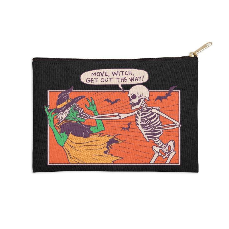 Move, Witch Accessories Zip Pouch by hillarywhiterabbit's Artist Shop