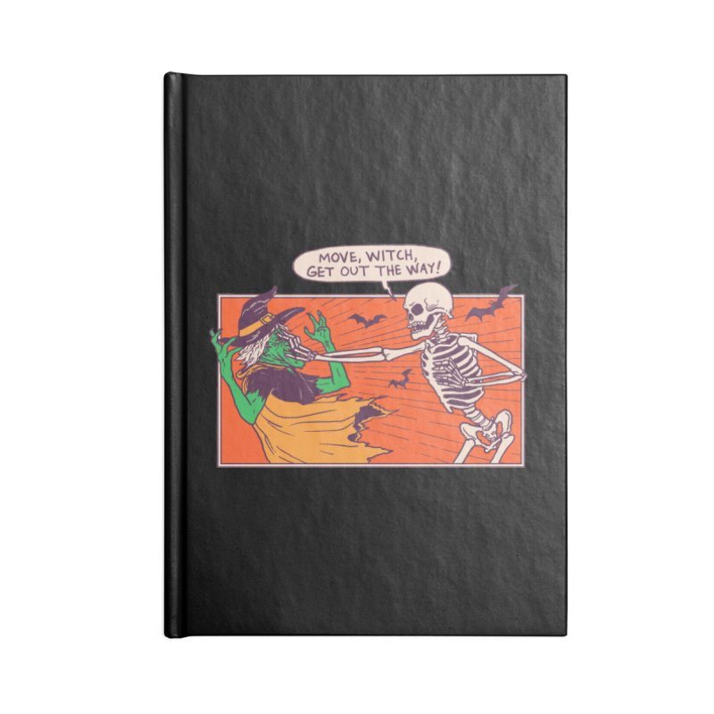 Move, Witch Accessories Notebook by Hillary White
