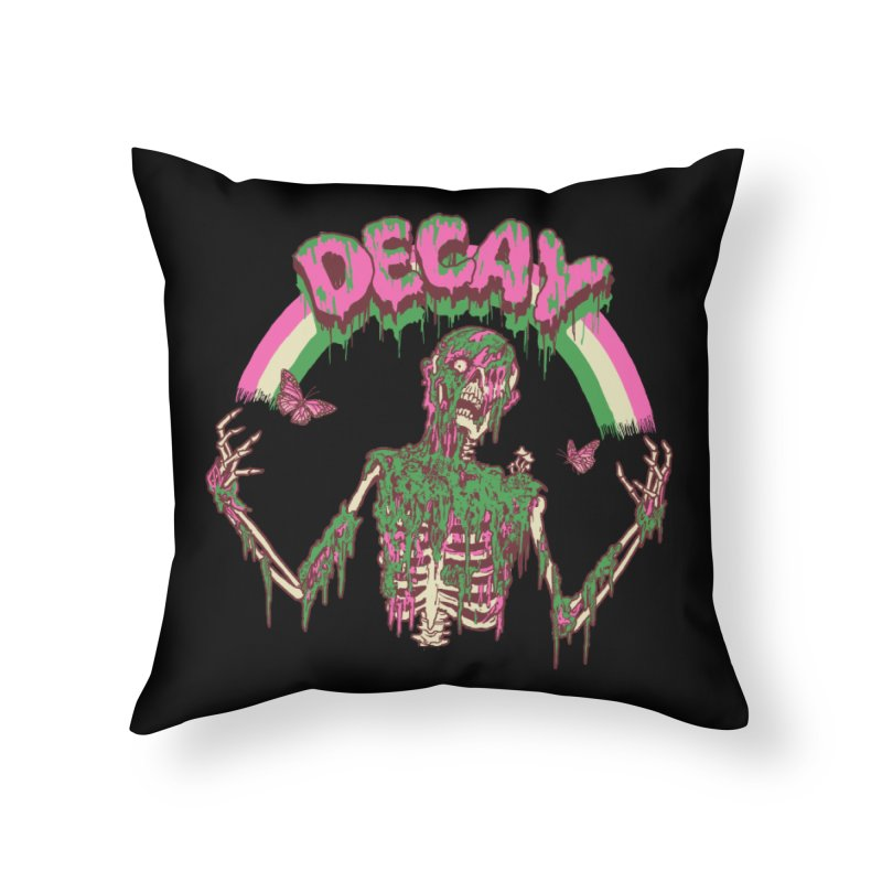 Decay Home Throw Pillow by hillarywhiterabbit's Artist Shop