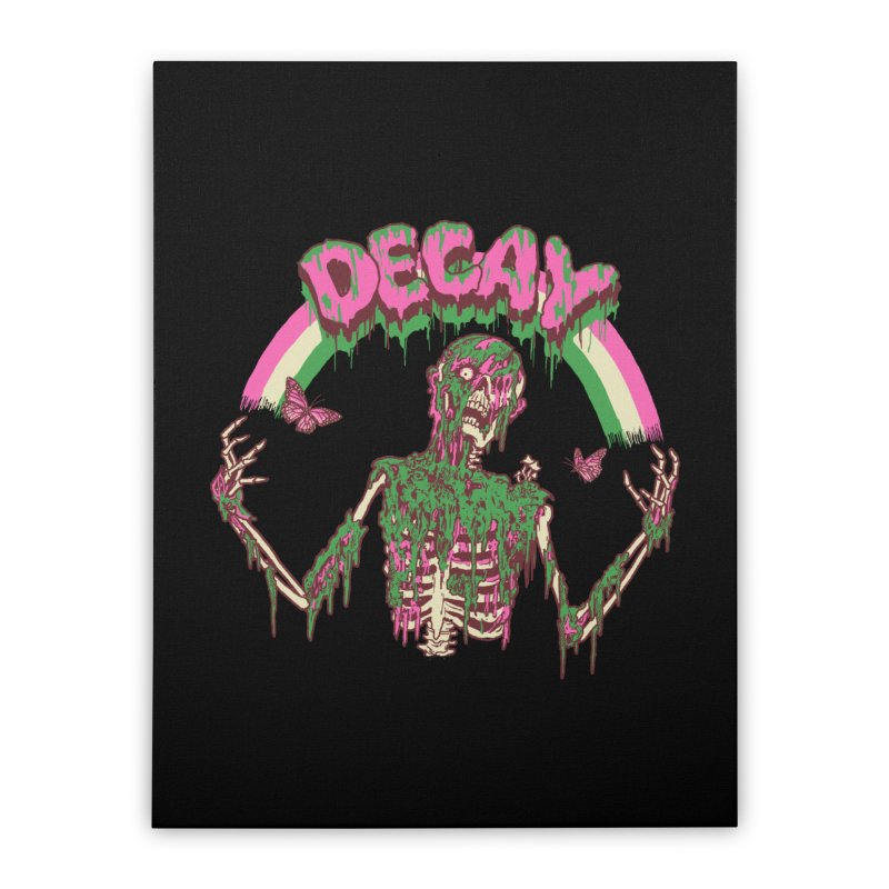 Decay Home Stretched Canvas by Hillary White