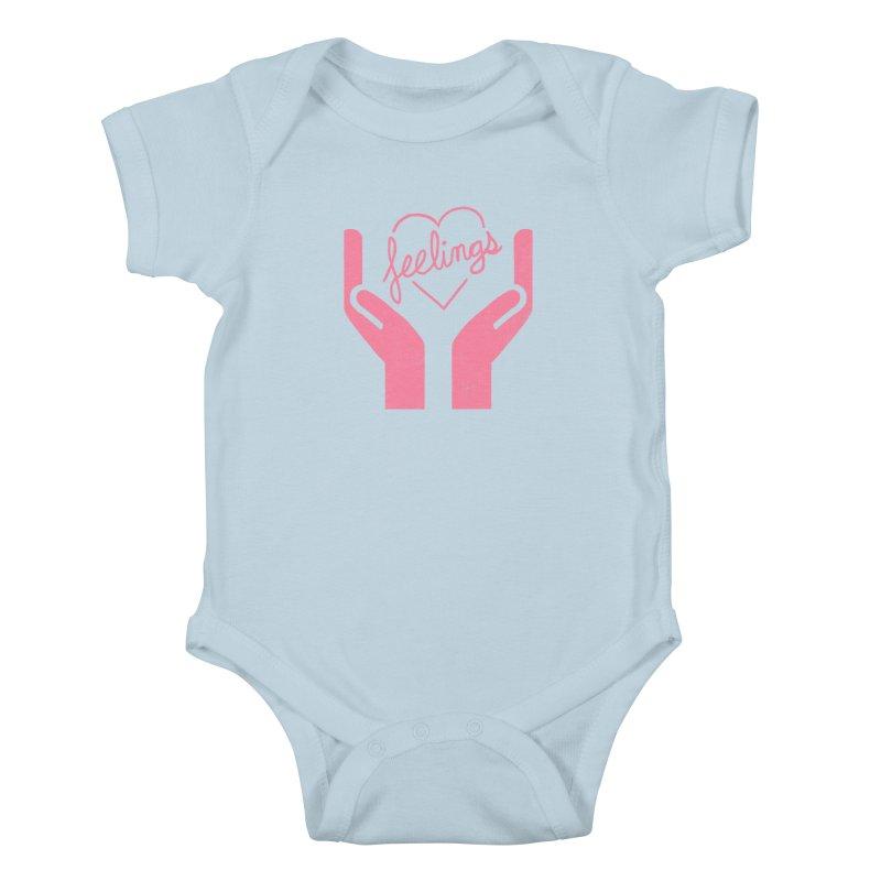 Handle With Care Kids Baby Bodysuit by hillarywhiterabbit's Artist Shop