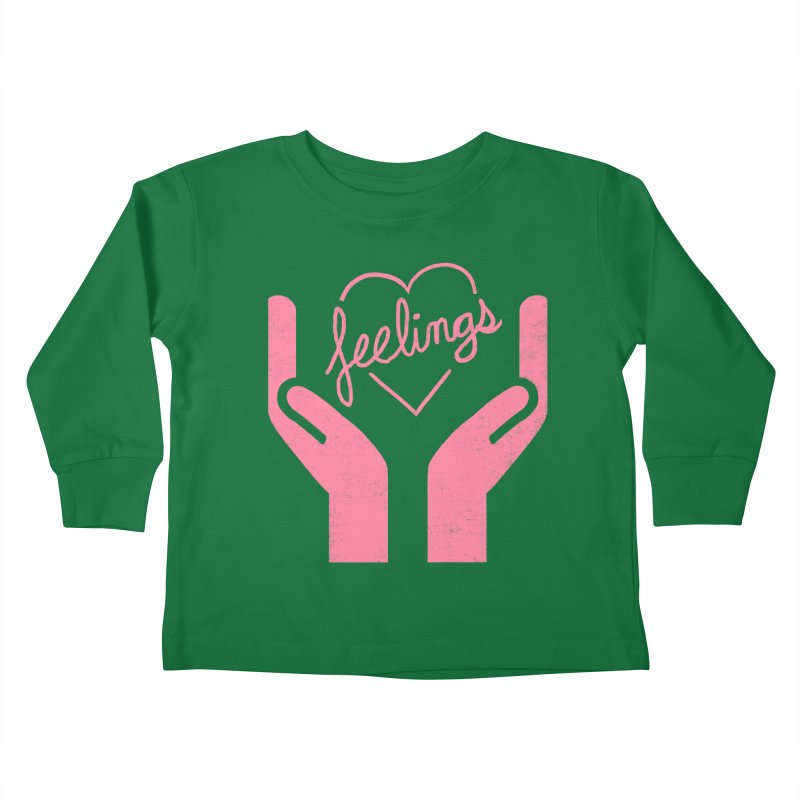 Handle With Care Kids Toddler Longsleeve T-Shirt by hillarywhiterabbit's Artist Shop