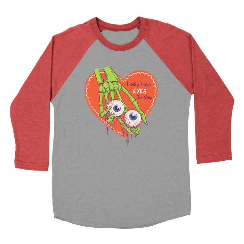 I Only Have Eyes For You Women's Baseball Triblend Longsleeve T-Shirt by hillarywhiterabbit's Artist Shop