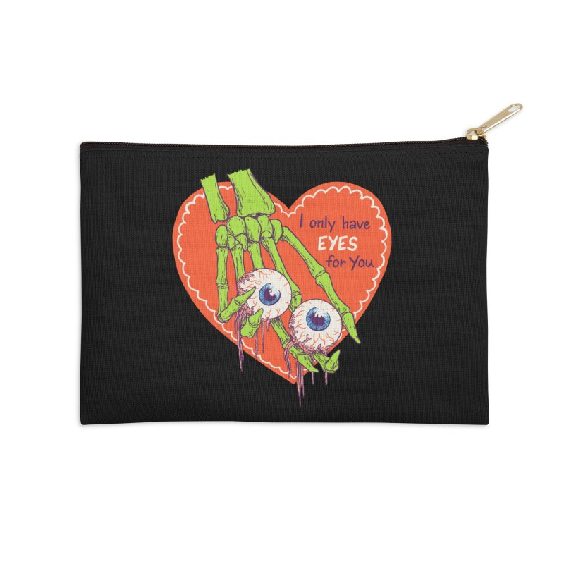 I Only Have Eyes For You Accessories Zip Pouch by hillarywhiterabbit's Artist Shop