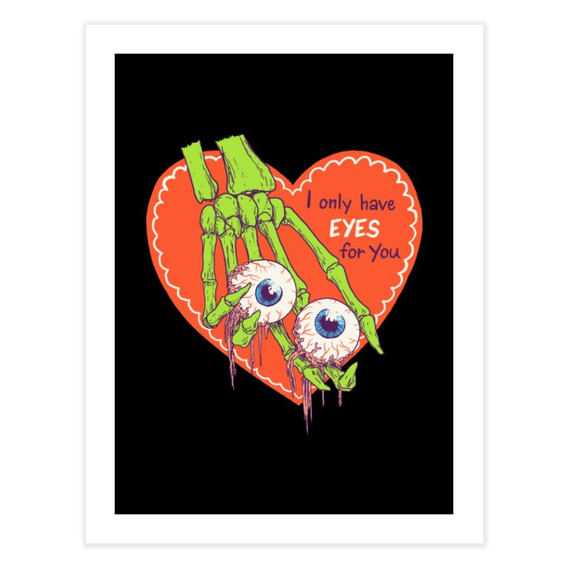 I Only Have Eyes For You Home Fine Art Print by hillarywhiterabbit's Artist Shop