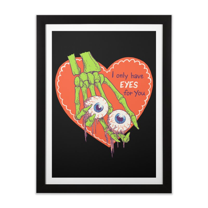 I Only Have Eyes For You Home Framed Fine Art Print by Hillary White