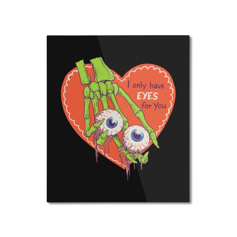 I Only Have Eyes For You Home Mounted Aluminum Print by Hillary White