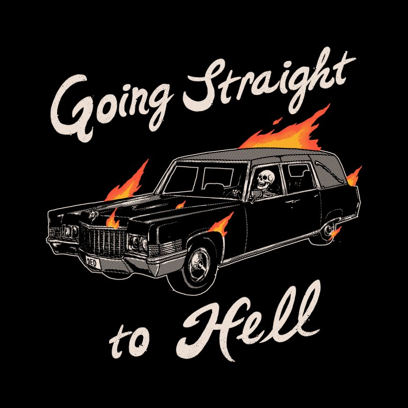Going Straight To Hell Accessories Sticker by Hillary White