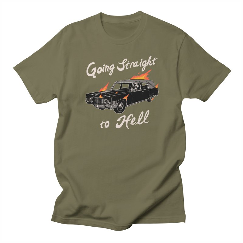Going Straight To Hell Women's Regular Unisex T-Shirt by Hillary White