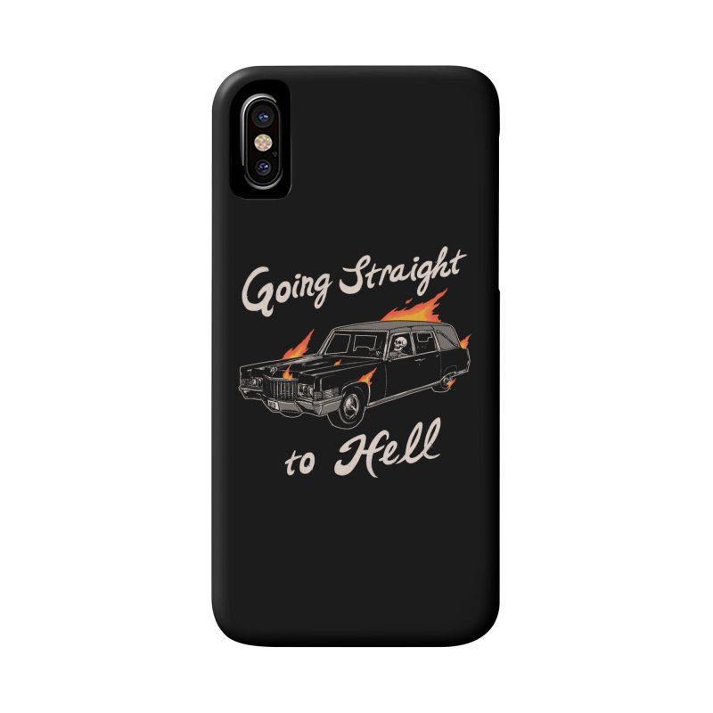 Going Straight To Hell Accessories Phone Case by Hillary White