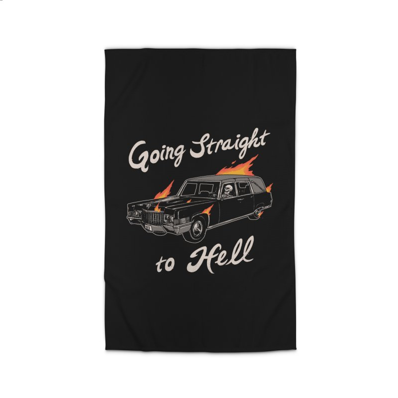 Going Straight To Hell Home Rug by hillarywhiterabbit's Artist Shop