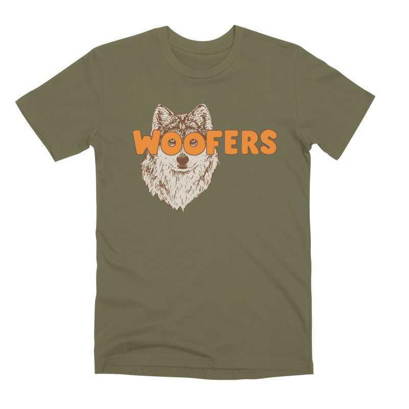 Woofers Men's Premium T-Shirt by Hillary White