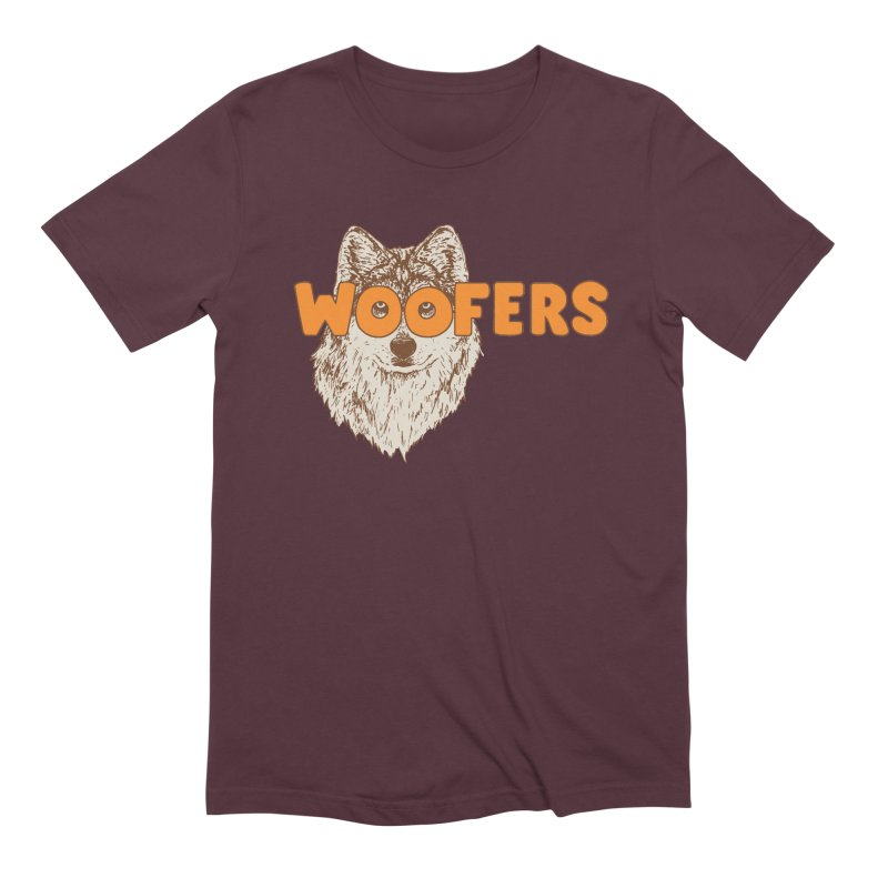 Woofers Men's Extra Soft T-Shirt by Hillary White
