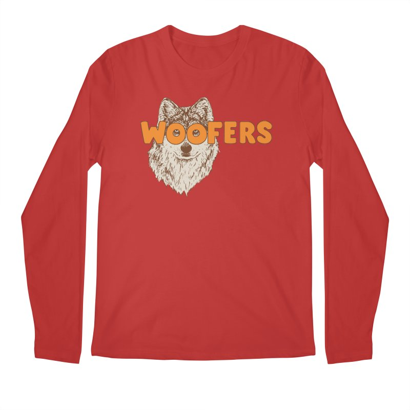 Woofers Men's Regular Longsleeve T-Shirt by Hillary White