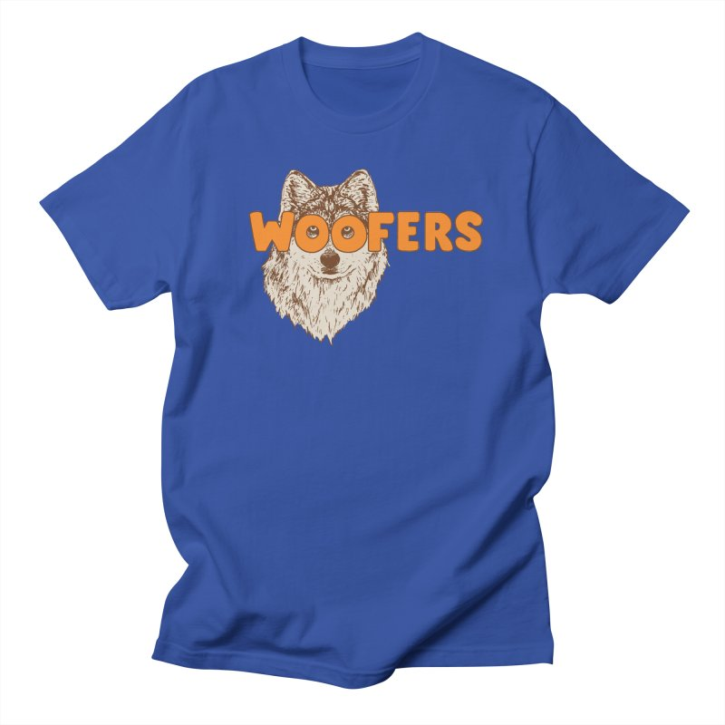 Woofers Women's Regular Unisex T-Shirt by Hillary White