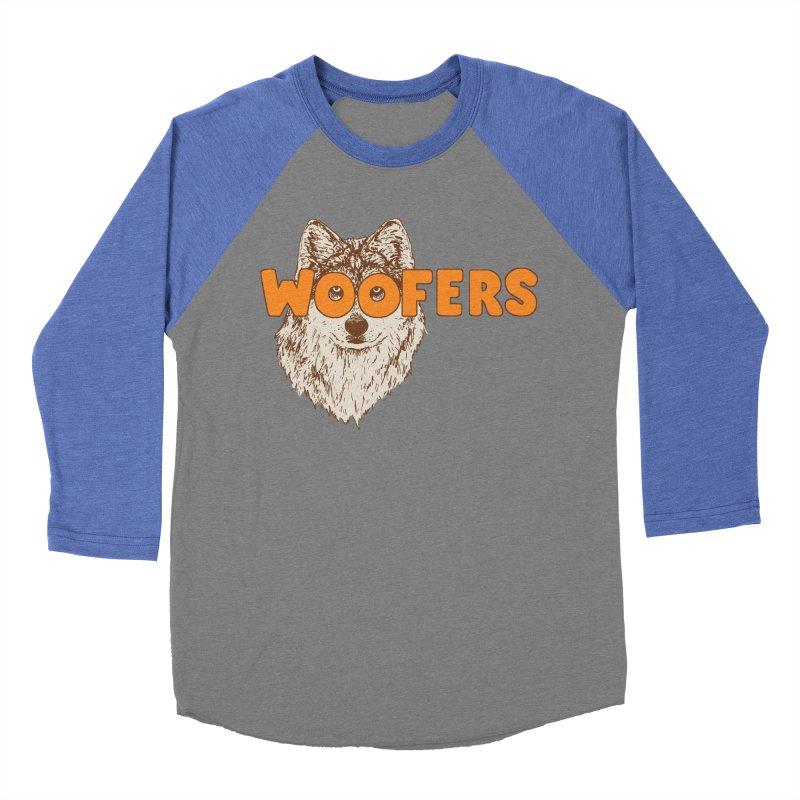 Woofers Men's Baseball Triblend Longsleeve T-Shirt by Hillary White