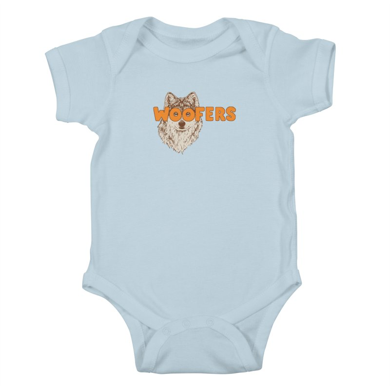 Woofers Kids Baby Bodysuit by Hillary White