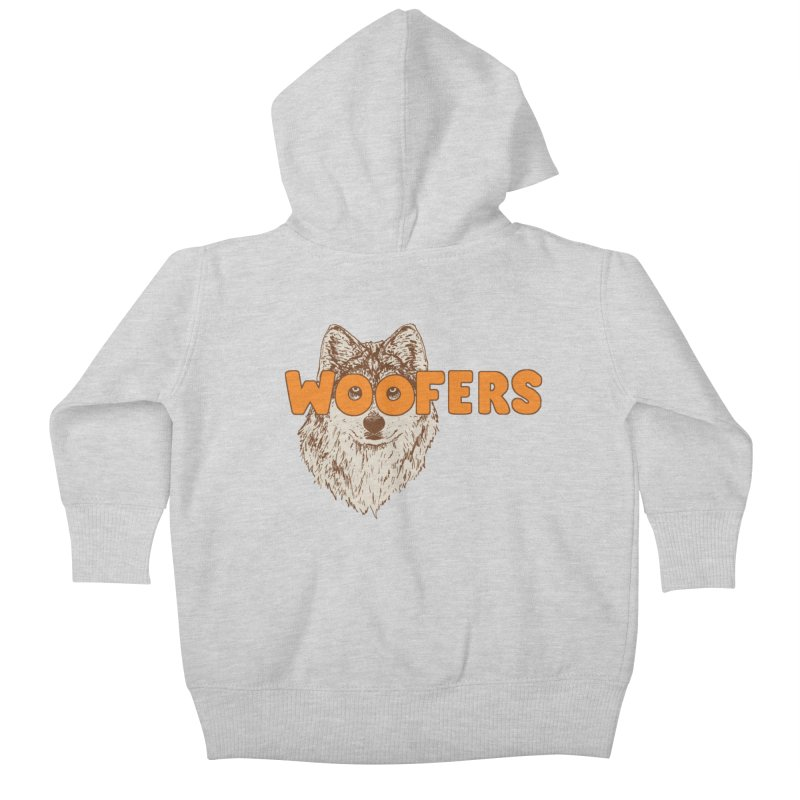 Woofers Kids Baby Zip-Up Hoody by Hillary White