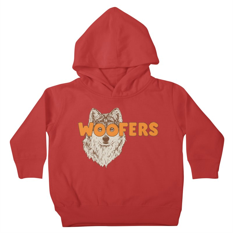 Woofers Kids Toddler Pullover Hoody by Hillary White