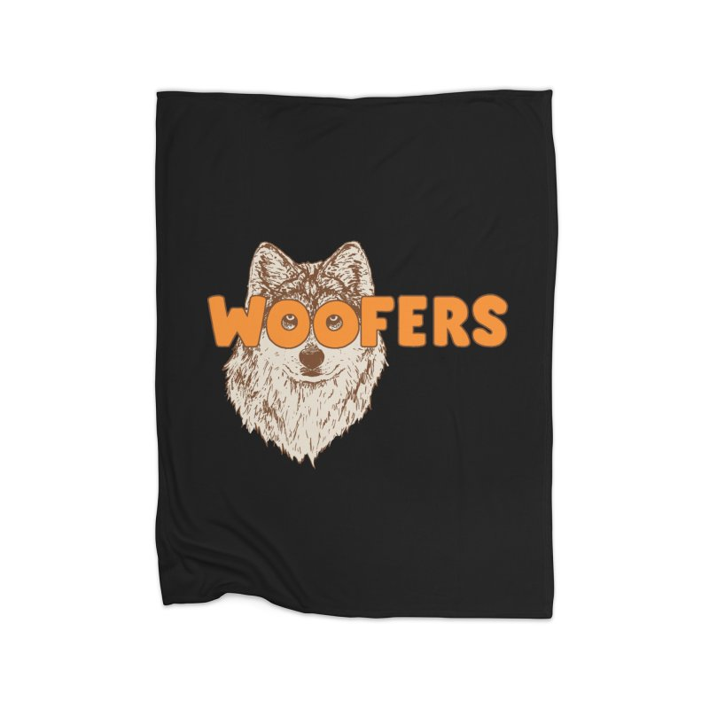 Woofers Home Blanket by Hillary White