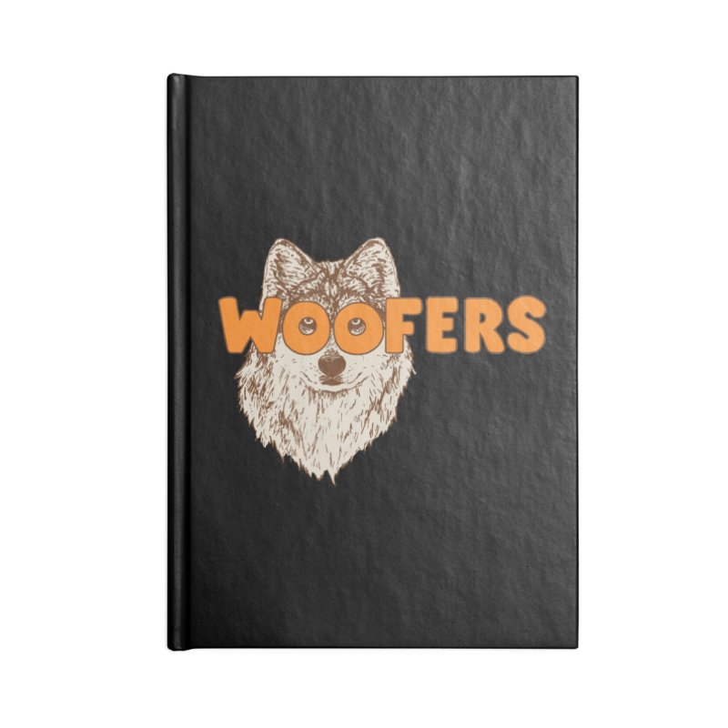 Woofers Accessories Notebook by Hillary White