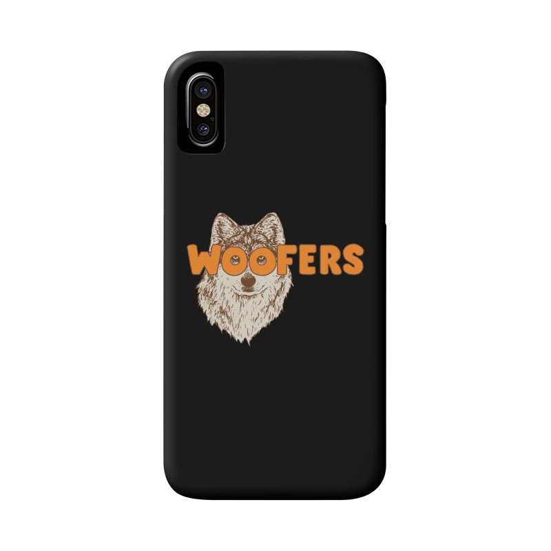 Woofers Accessories Phone Case by Hillary White