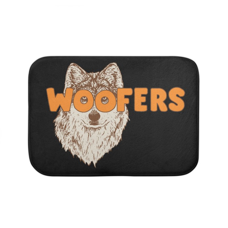 Woofers Home Bath Mat by Hillary White