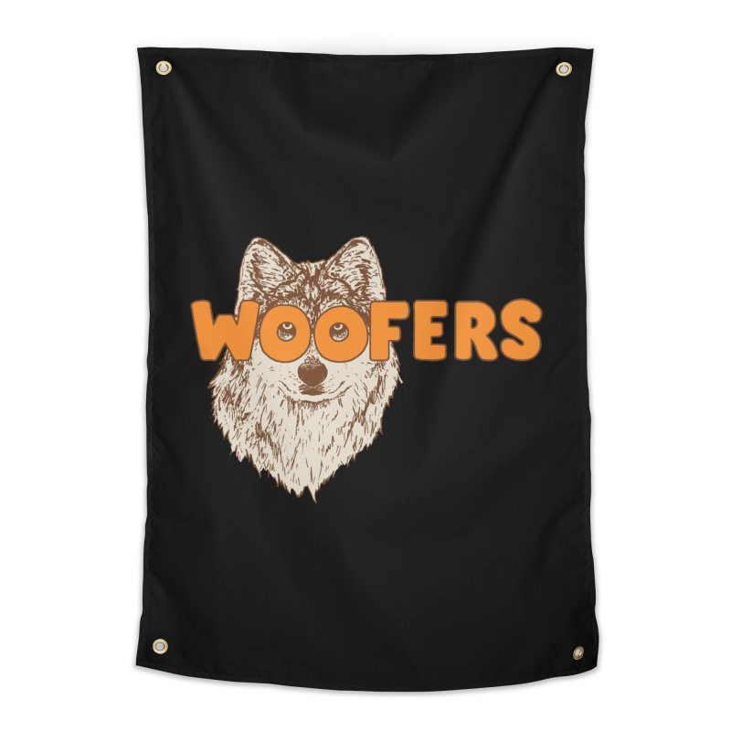 Woofers Home Tapestry by Hillary White