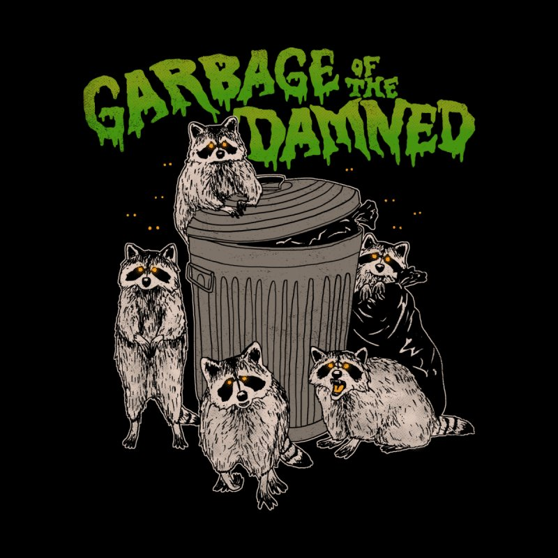 Garbage of the Damned Home Mounted Aluminum Print by Hillary White
